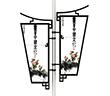燈桿(gan)燈箱(xiang)廣告牌